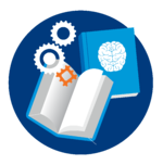NLI_Icon_Books with gears